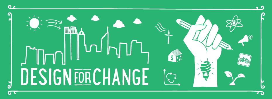 Design for Change - elementos que representam a mudança promovida pelo Design Thinking