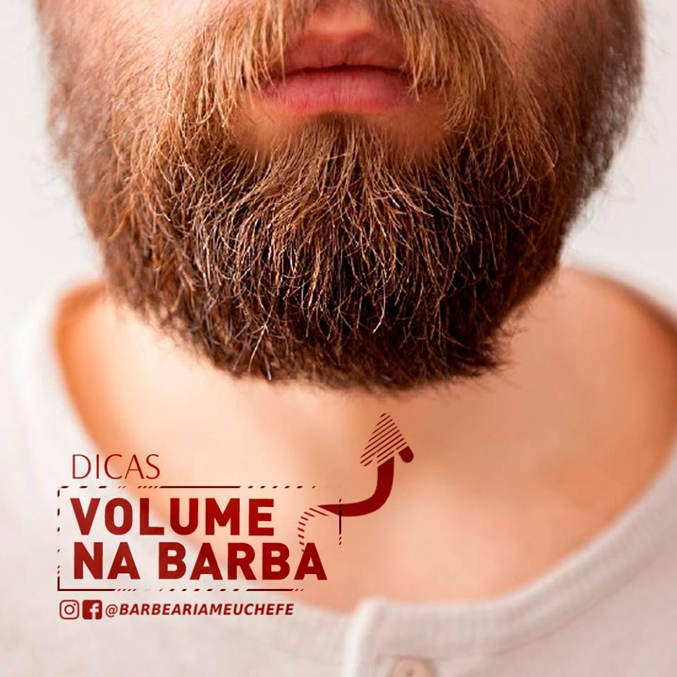 Imagem sobre dicas para volume na barba